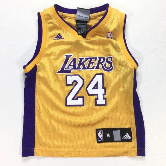 Adidas NBA Jersey Kobe Bryant LA Lakers #24 5-6